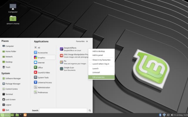 Linux Mint 19 – Peardox